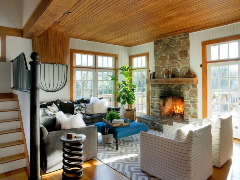 The boston globe for Unconventional living room ideas