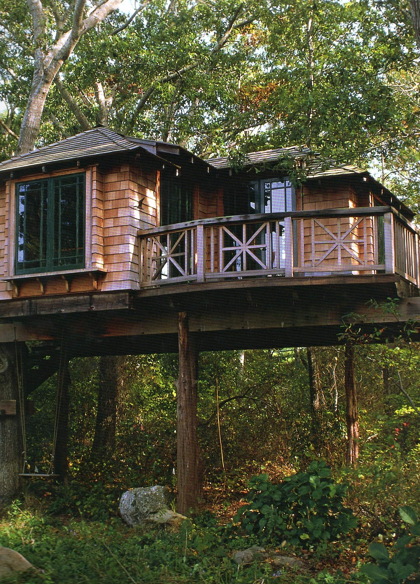 treehouses high end style goes out on a limb home improvement