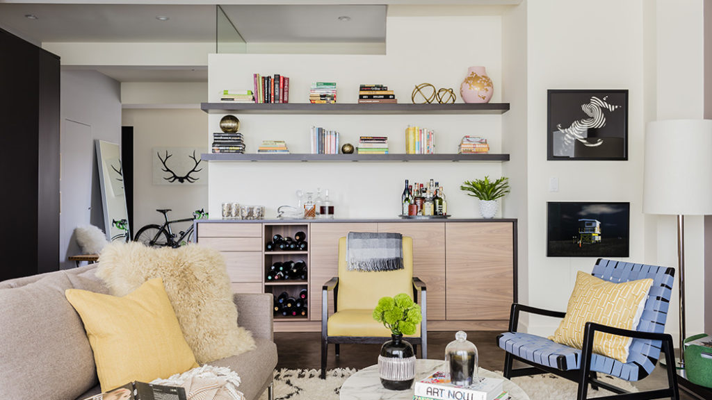 Look How This South End Loft Style Condo Evolved To Suit A Young Family