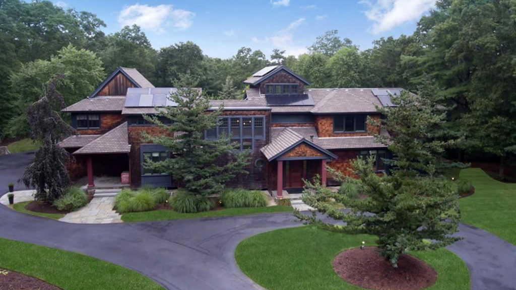 This 5 Acre Plus Plymouth Estate Offers Solar Panels