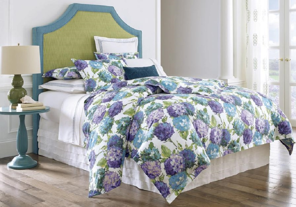 It's a dramatic bedtime story. Comforters, duvets getting bolder