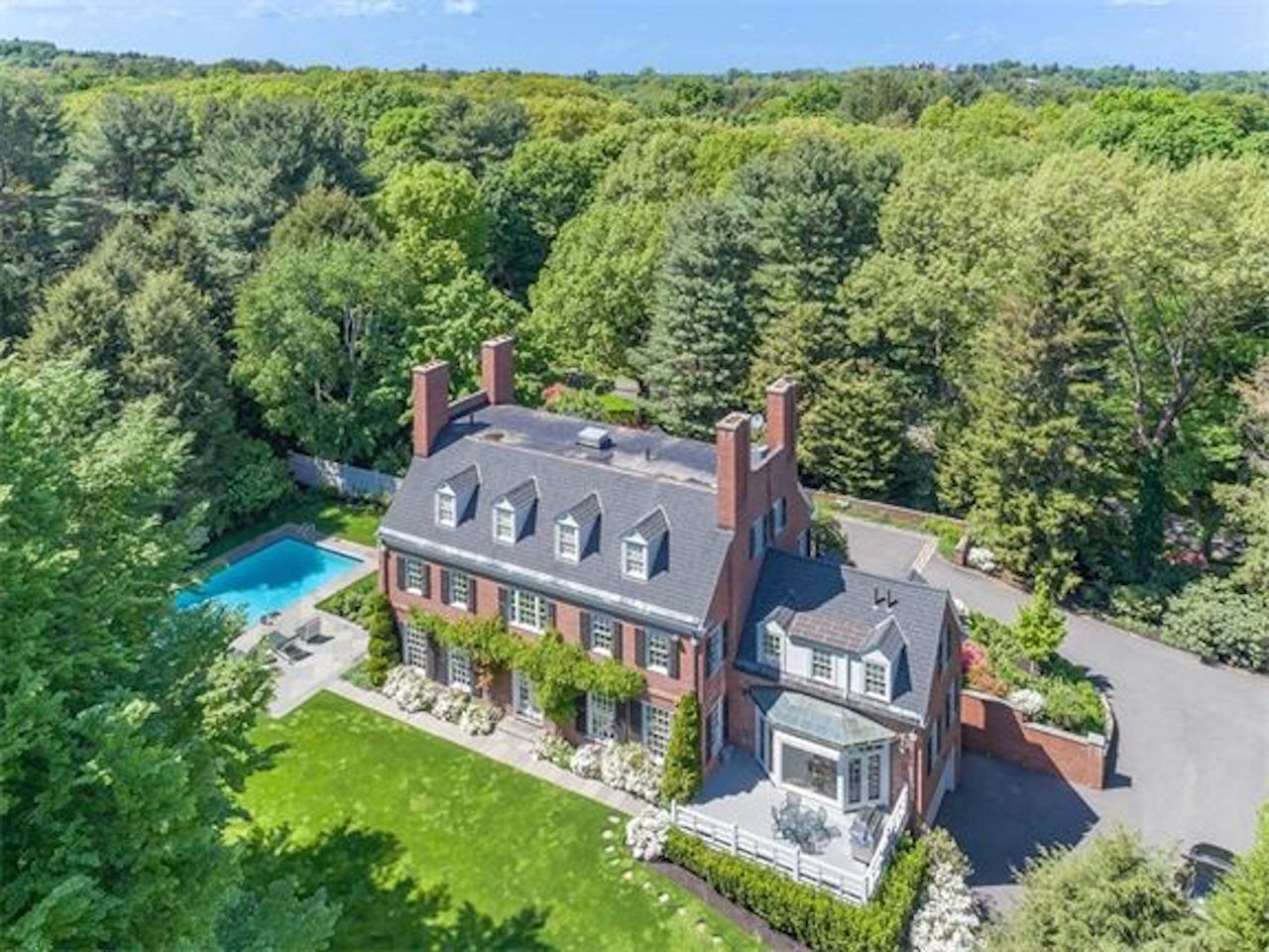 Historic 14-room home in Brookline on sale for $15.9 million