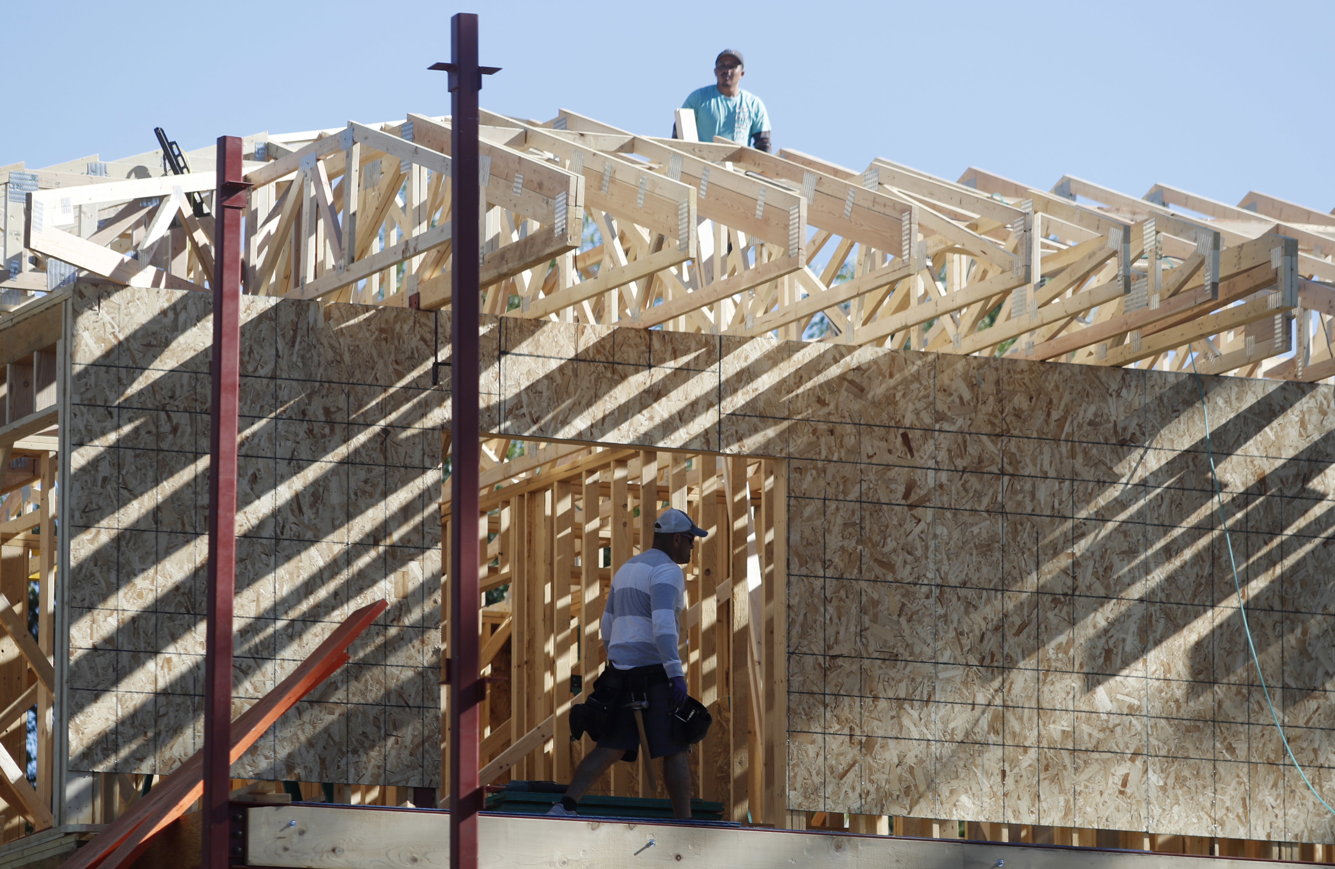 US home construction slips in June, but not in Northeast