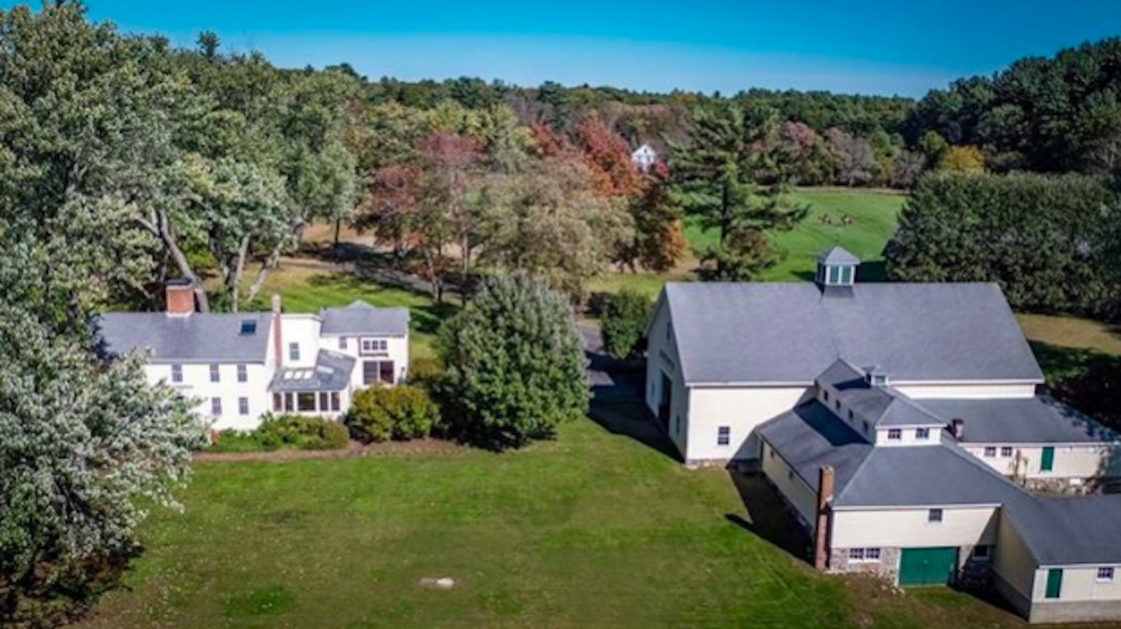 Luxury Home of the Week: Renovated Concord farmhouse on 12-plus acres for $8.7 million