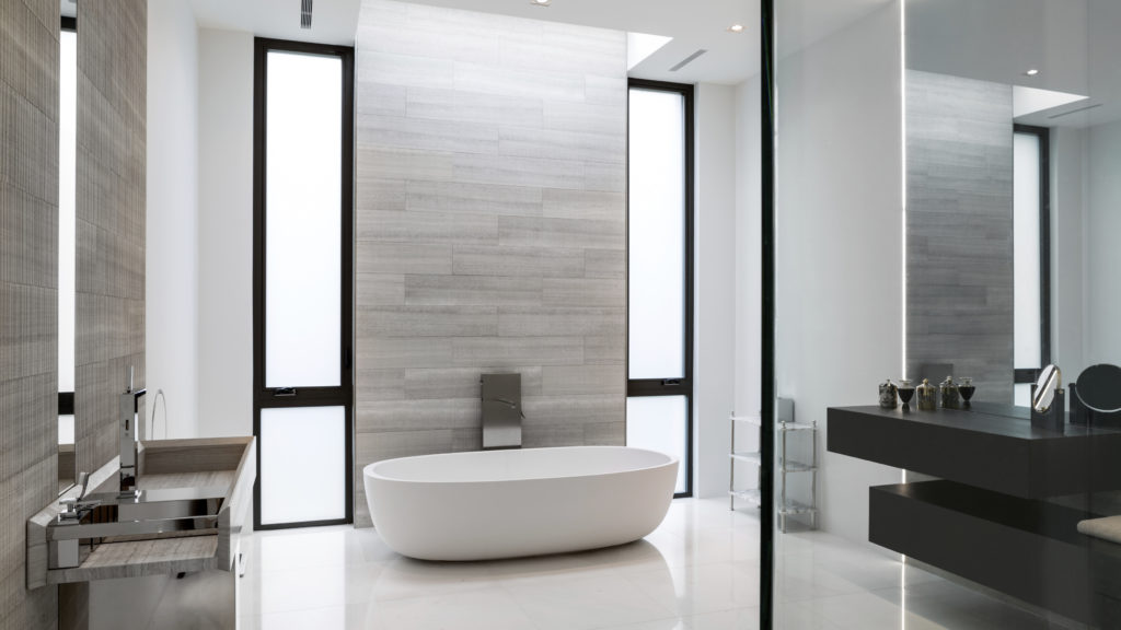 Small Touches Create A Great Master Bathroom