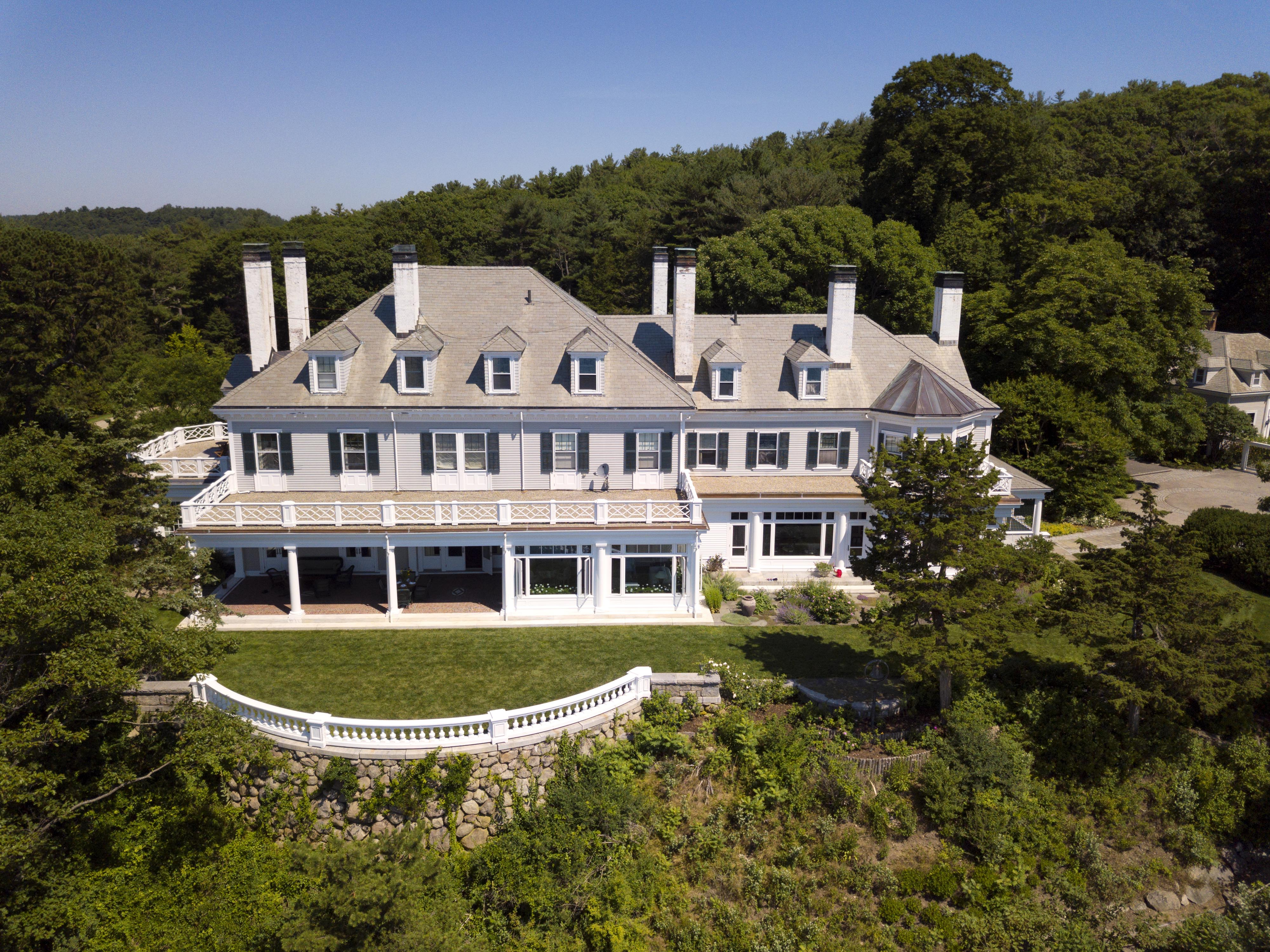 A 22-room Manchester-by-the-Sea property listed for $24 million
