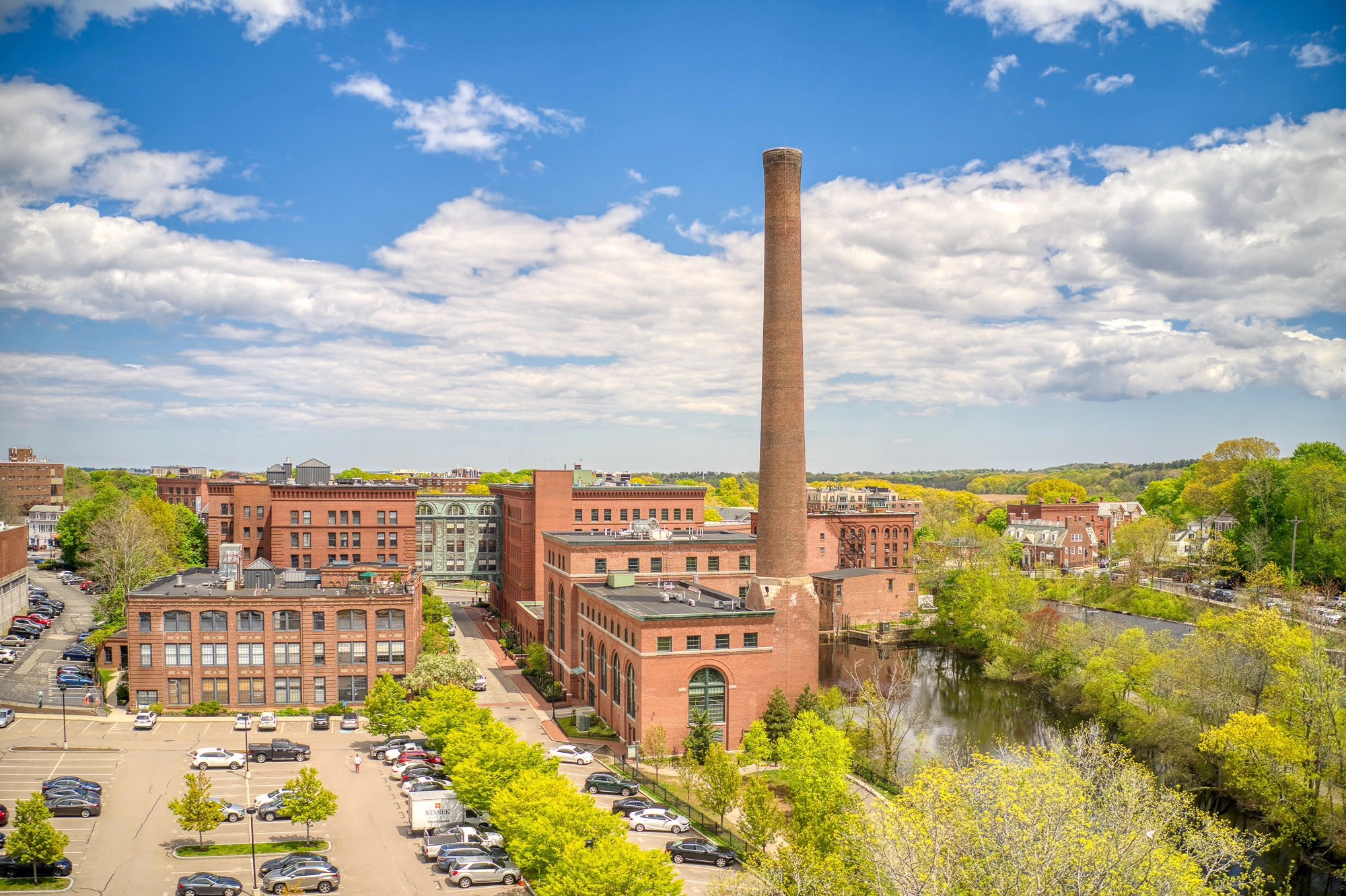 Just listed: A loft-style condo in a historic Dorchester mill for $875,000