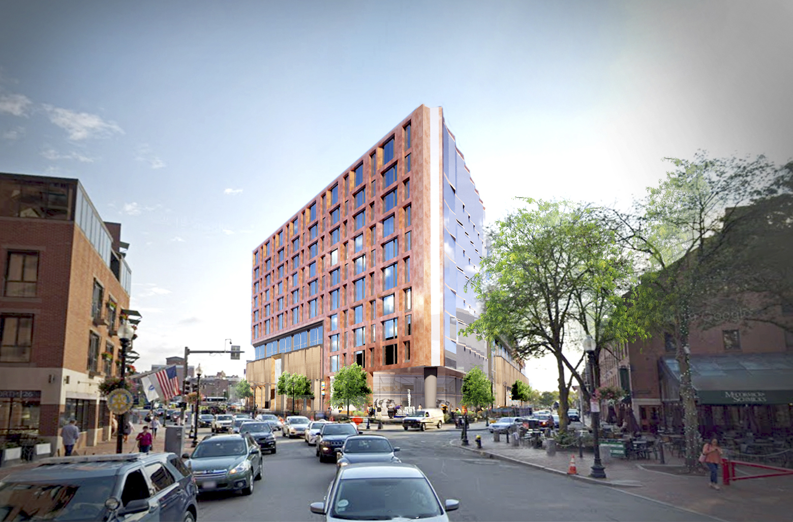 200-plus unit condo project for Dock Square Garage moves forward