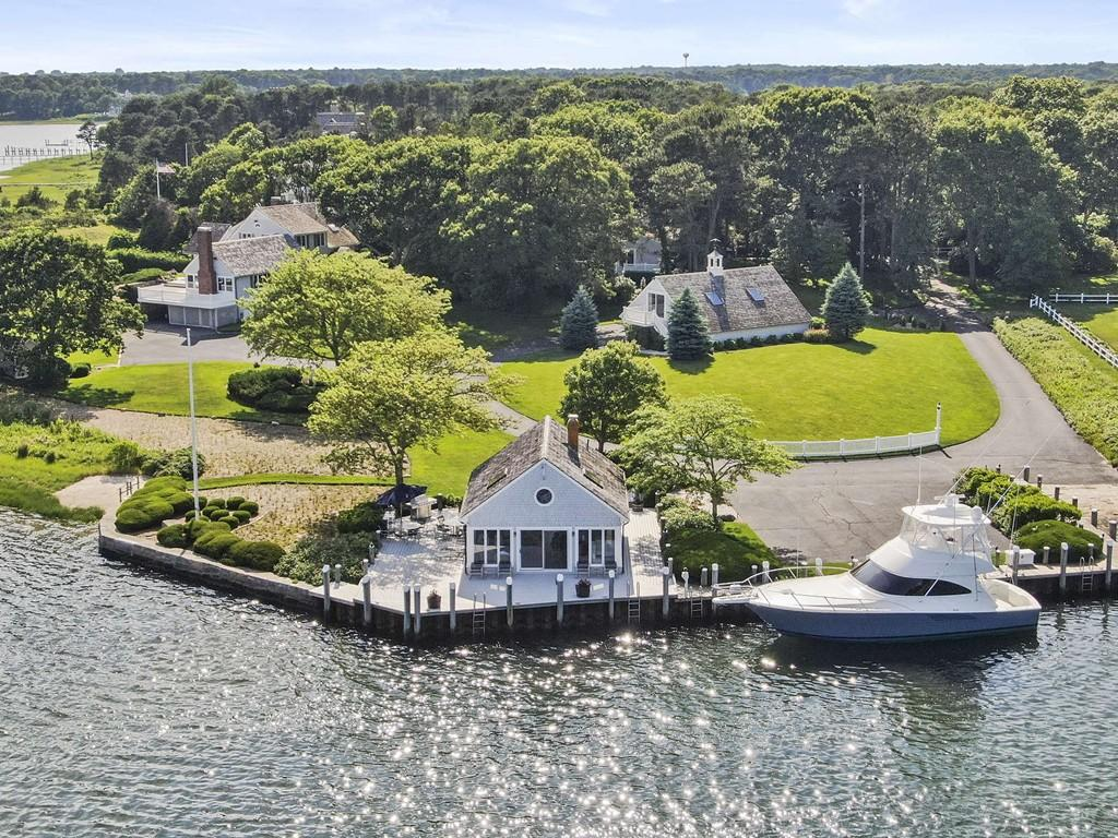 Luxury Home of the Week: A Barnstable island find with docks and a beach for $25 million