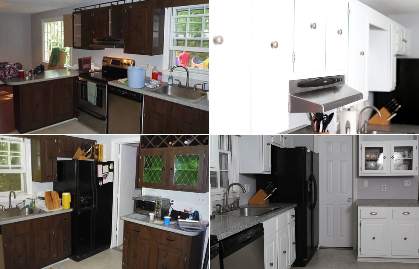 How To Take Down And Paint Your Kitchen Cabinets Save A Bundle Home Improvement Style Boston Real Estate