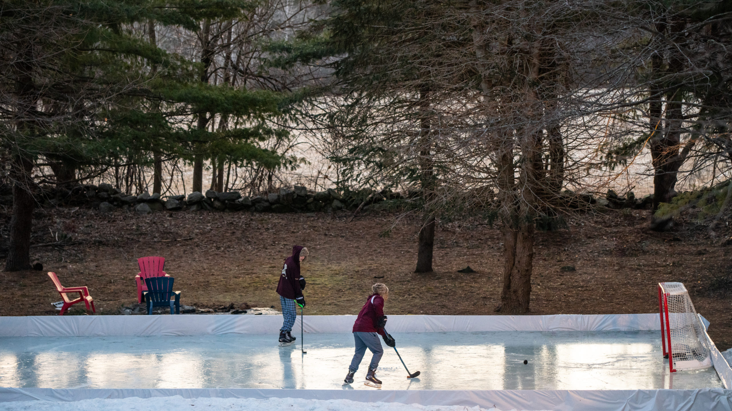 The Demand For Backyard Ice Rinks Heats Up Amid The Pandemic